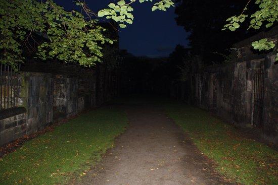 City of the Dead Tours: Creepy entrance to covenator's prison