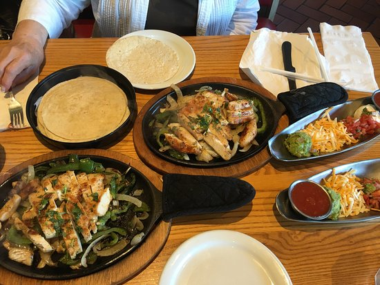 New Britain, CT: This is their two for $20 chicken fajitas.