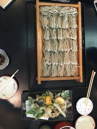 Tsunan-machi, Japón: 天ぷらは、塩で・・・