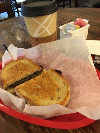 Jeffersonville, IN: Breakfast #1 on rye bread