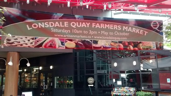 Vancouver-Nord, Canada : Lonsdale Quay Market