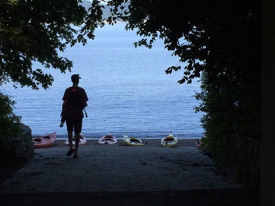 Croton on Hudson, NY: Sunday morning on the Hudson - perfect!