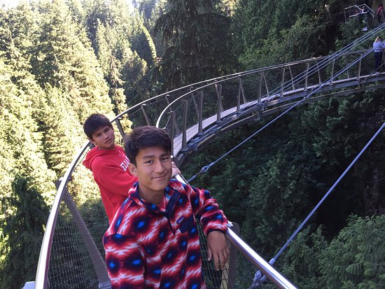 Vancouver-Nord, Canada : Cliff walk