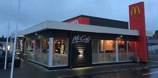 Taihape, New Zealand: McDonald's