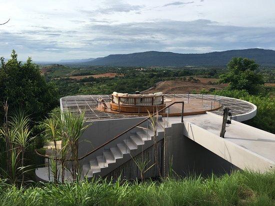 Sala Khaoyai: Super mooi uitzicht! Een pracht locatie, erg sfeervol! Heel aardige bediening en lekker eten. De