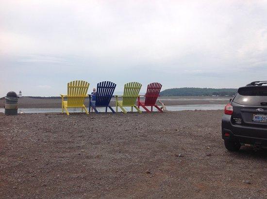 Parrsboro, Canadá: The beach!