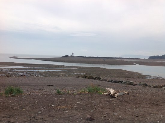 Parrsboro, Canadá: Highest tides in the world!