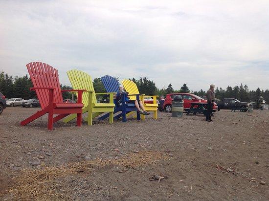Parrsboro, Canada: View from restaurant!