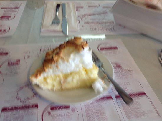Parrsboro, Canadá: My coconut cream pie
