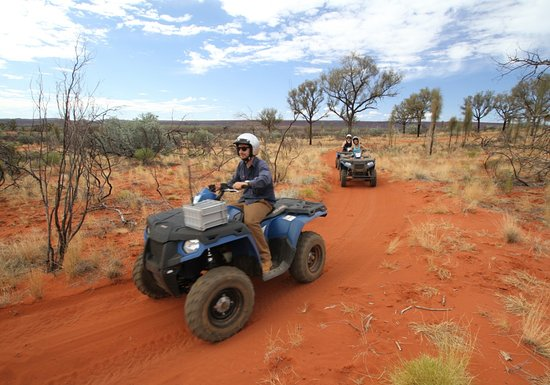 Kings Canyon, Australie : Kings Creek Station Quad Bike Tours