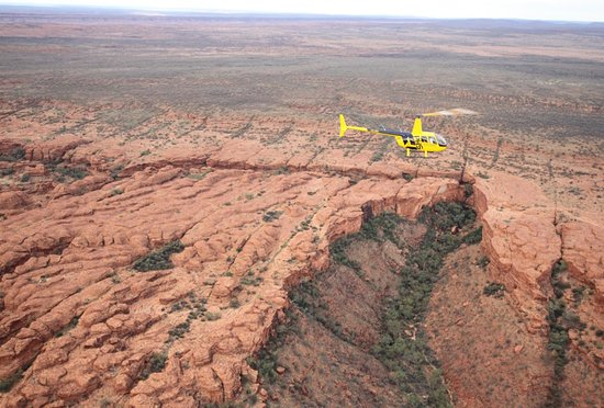Helicopter Flight over Kings Canyon