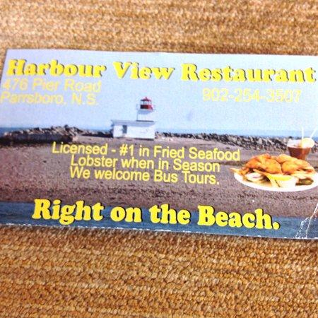 Parrsboro, Canada: Donot pass this restaurant!