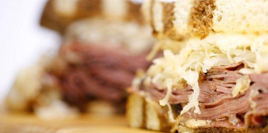 Watford City, Dakota del Norte: Reuben sandwich.