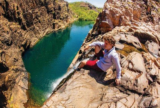 Gunlom Falls in Kakadu National Park