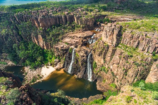 Jim Jam Falls within Kakadu National Park