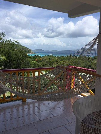 Perfect Pineapple Guest Houses: View from balcony