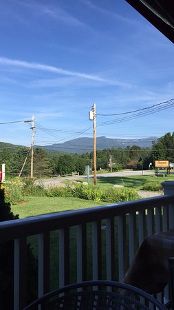 The Arbor Inn: View from the porch