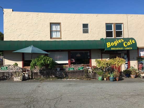 Bogie's Cafe front
