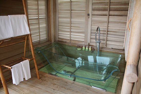 Clear Bathtub Amazing Clear Frameless Bathroom Design