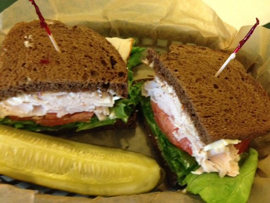 Claremont, Nueva Hampshire: Turkey Sandwich
