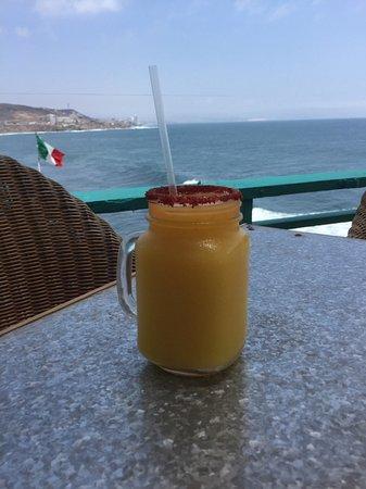 The Point at Calafia: Mango Margarita with Tamarind Rim