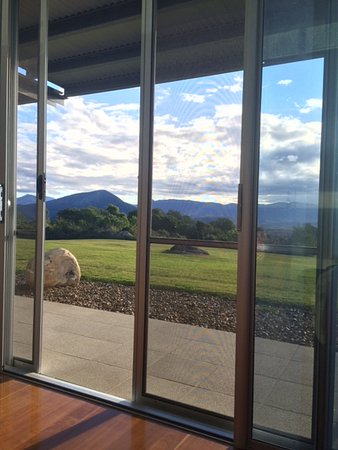 Boonah, Australia: View from the couch