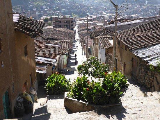 Otuzco, Peru: Aussicht: Belohnung nach anspruchsvollem Aufstieg auf 2800 m