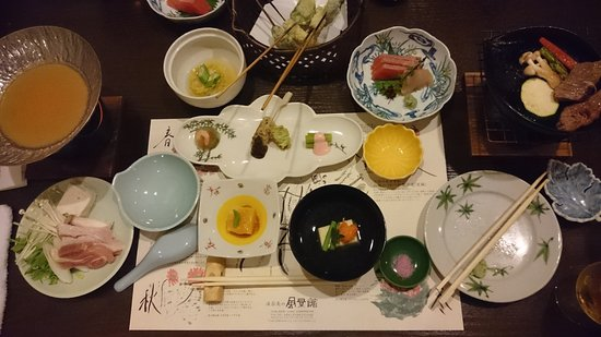 Kamitakai-gun, Japan: 夕食