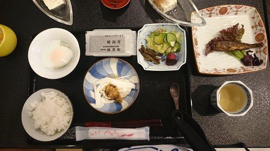 Kamitakai-gun, Japan: 朝食