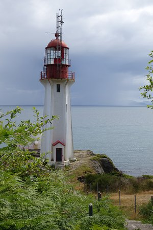 Shirley, Canadá: Sheringham Point Lighthouse, still in use