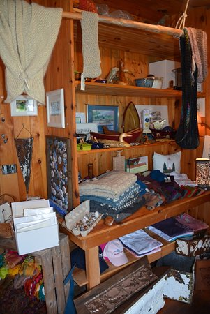 Grand Manan, Canada: Some of the things you can buy at Pettes Cove Arts