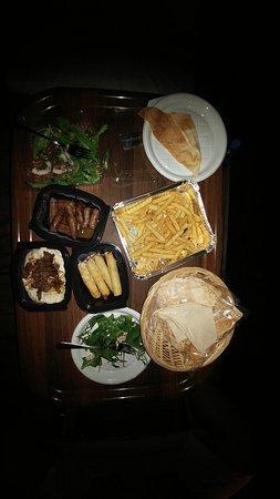 Jezzine, Libanon: The delicious Dinner