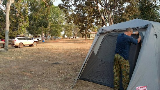 Cape York, Australia: Nice outback place to break the journey and share stories