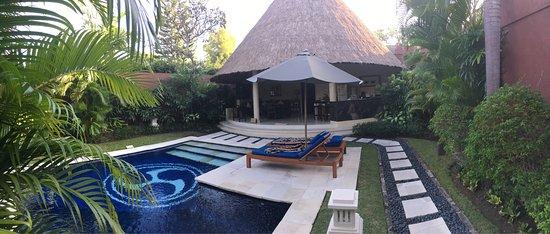 Dusun Villas Bali: Très belle villa une chambre, spacieuse et très calme (11)