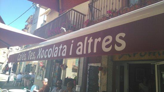 Puigcerda, إسبانيا: Cafe Aroma Puigcerda