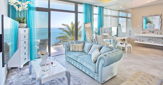 El Oceano Beach Hotel: The stunning Penthouse Suites.  New for 2016.