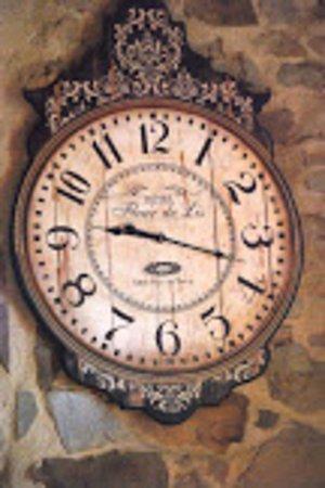 Boveglio, Italie: L'horloge de la Casa Cielo