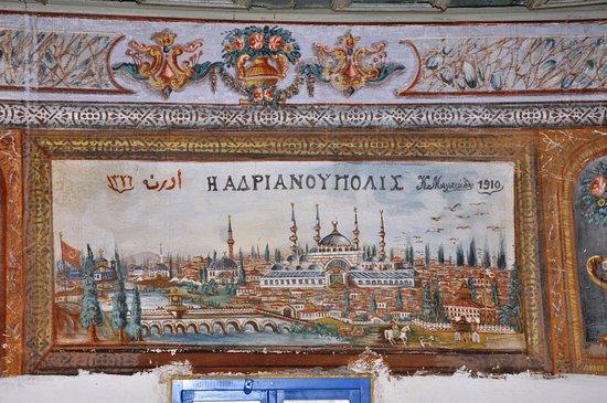 Mustafapasa, Turki: mustafapaşa konaklarında duvar resmi EDİRNE-mustafapaşa