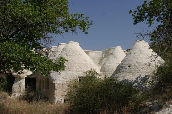 Mustafapasa, Turkiet: Beydere Vadisi Kaya evler-mustafapaşa