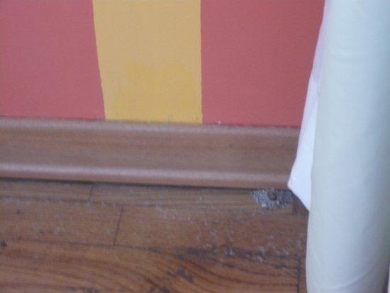 Hotel Mateotti: Staub und Dreck hinter den Gardinen