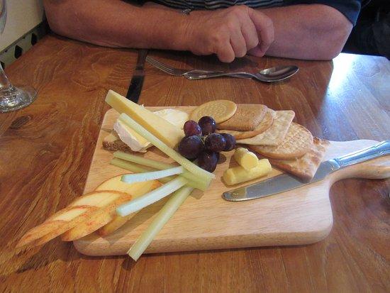 Darley Dale, UK: cheese board