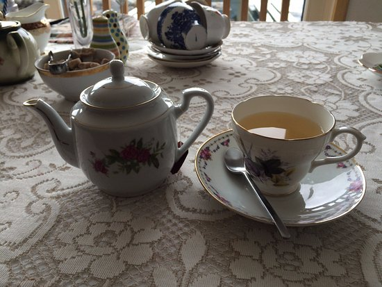 Unst, UK: Green tea
