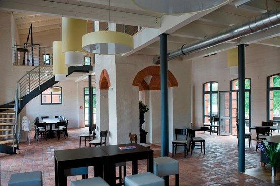 Nauen, Γερμανία: Restaurant Seeterrassen Innenansicht