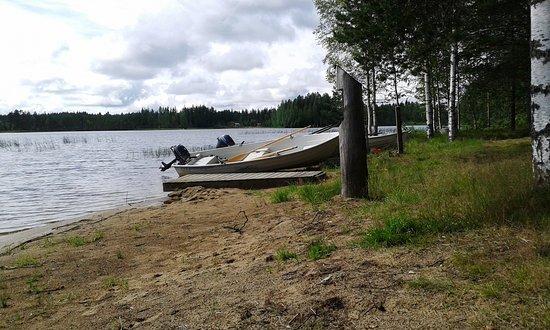 Juva Camping: лодки на прокат