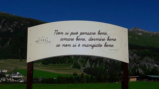 La Punt-Chamues-ch, سويسرا: Restaurant Musella