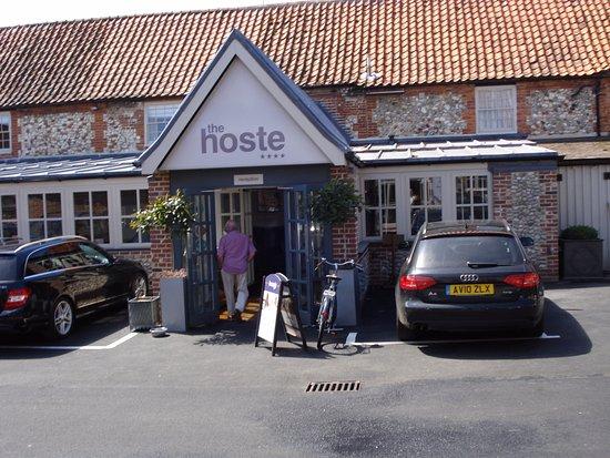 Burnham Market, UK : Entrance