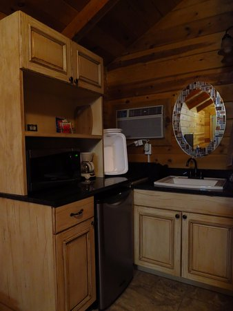 Cannonville, Юта: le coin cuisine