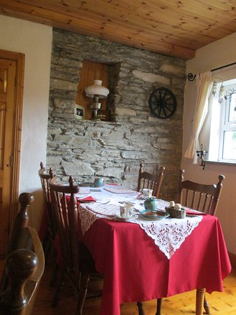 Seamount Farmhouse Bed & Breakfast: interno