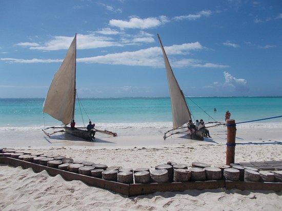 Dream of Zanzibar: la spiaggia del resort