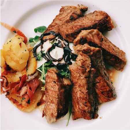 Relais Villa Vittoria: Beef Entrecôte